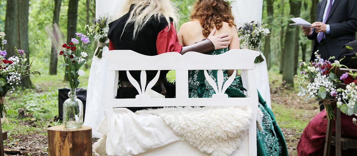 Middeleeuwse bruiloft in Leersum, landgoed Zuylenstein