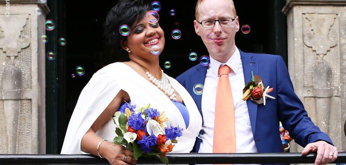 Bruidsfotografie Naarden-Vesting | Carolina & Emile