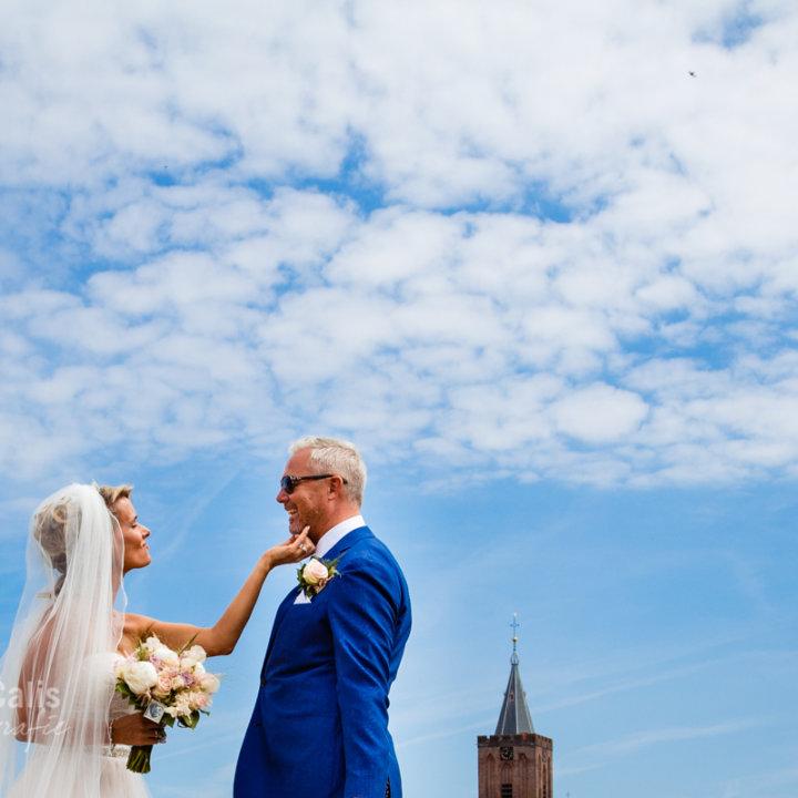 Trouwfotograaf / Bruidsfotografie Naarden Vesting - Stadhuis Naarden