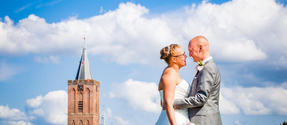 Bruidsreportage Het Arsenaal Naarden Vesting * Roel en Astrid